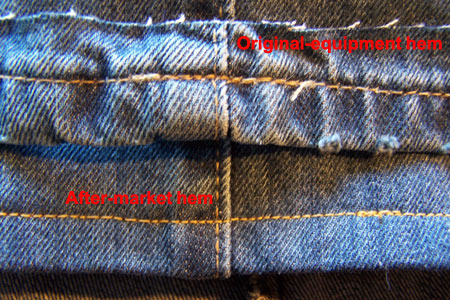 hems How to sew through denim without breaking your sewing machine